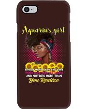 AQUARIUS GIRL Phone Case thumbnail