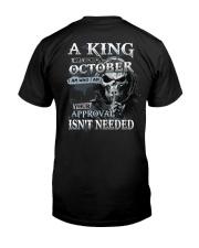 H- OCTOBER MAN Classic T-Shirt back