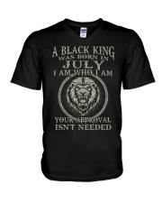 JULY MAN- D V-Neck T-Shirt thumbnail
