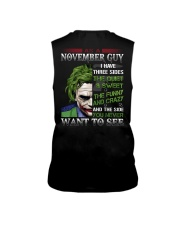 Birthday shirt design for November boys men Sleeveless Tee thumbnail
