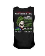 Birthday shirt design for November boys men Unisex Tank tile