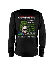 Birthday shirt design for November boys men Long Sleeve Tee thumbnail