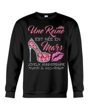 H- Mars Joyeux Anniversaire Tee Shirt Femme Crewneck Sweatshirt thumbnail
