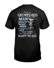 H- GRUMPY OLD MAN Classic T-Shirt back