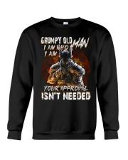 H- GRUMPY OLD MAN Crewneck Sweatshirt thumbnail