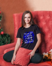 DECEMBER GIRL Ladies T-Shirt lifestyle-holiday-womenscrewneck-front-2