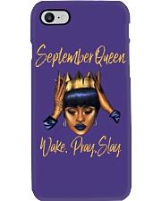September Queen Wake Pray Slay Phone Case thumbnail
