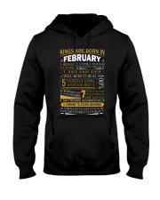FEBRUARY MAN Hooded Sweatshirt thumbnail