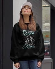 December Queen Crewneck Sweatshirt lifestyle-unisex-sweatshirt-front-1