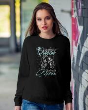 December Queen Crewneck Sweatshirt lifestyle-unisex-sweatshirt-front-9