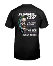 H- April Tshirt Printing Birthday shirts for Men Classic T-Shirt back