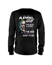 H- April Tshirt Printing Birthday shirts for Men Long Sleeve Tee thumbnail