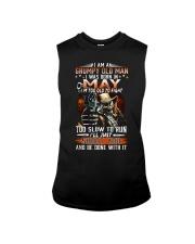 H- May T shirt Printing Birthday shirts for Men Sleeveless Tee thumbnail
