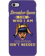 December Queen who i am Phone Case thumbnail