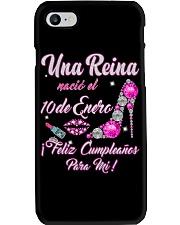 Camisetas Sublimadas Mujer Para Reinas De Enero Phone Case thumbnail