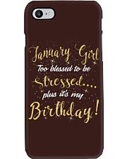 January Girl Phone Case thumbnail