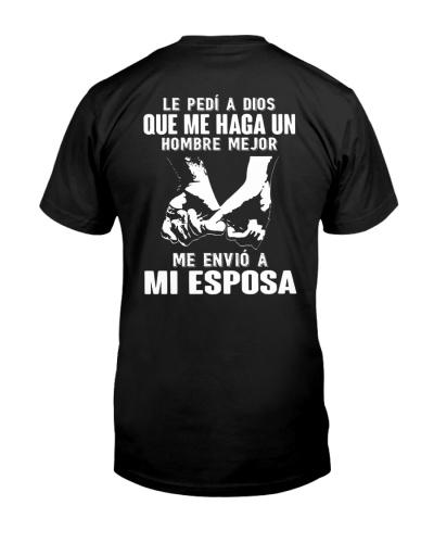 H- Camisetas Sublimadas Mejor Hombre Esposa