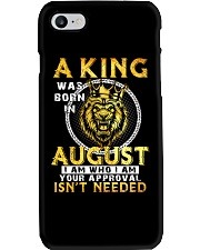 H- AUGUST KING Phone Case thumbnail