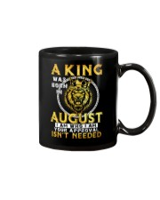 H- AUGUST KING Mug thumbnail