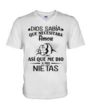 GRANDKIDS V-Neck T-Shirt thumbnail