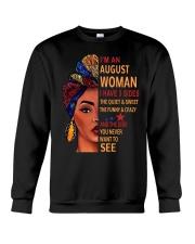 AUGUST WOMAN - 3 SIDES Crewneck Sweatshirt thumbnail