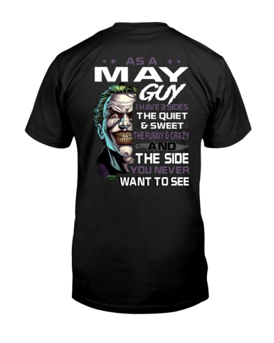 H- May Tshirt Printing Birthday shirts for Men