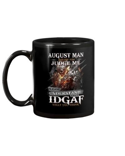 H- AUGUST MAN