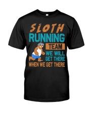SLOTH RUNNING Classic T-Shirt thumbnail
