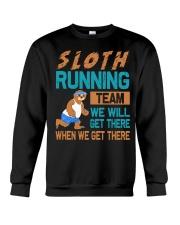 SLOTH RUNNING Crewneck Sweatshirt thumbnail