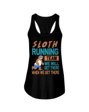 SLOTH RUNNING Ladies Flowy Tank thumbnail