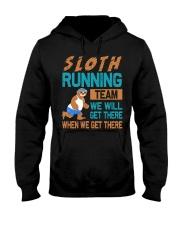 SLOTH RUNNING Hooded Sweatshirt thumbnail