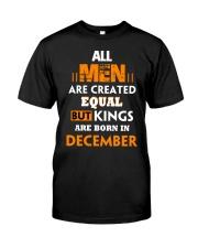 MAN DECEMBER Classic T-Shirt front