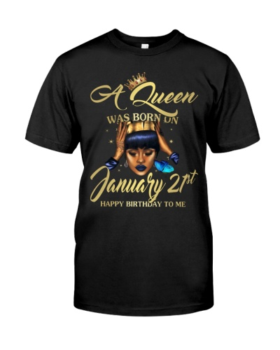 A JANUARY QUEEN