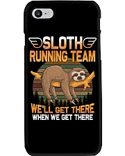 SLOTH RUNNING Phone Case thumbnail