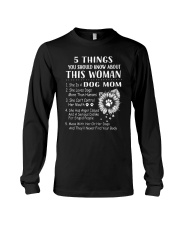 H- Dog Mom Tshirt Long Sleeve Tee thumbnail