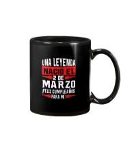 2 DE MARZO Mug thumbnail