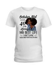OCTOBER GIRL Ladies T-Shirt thumbnail