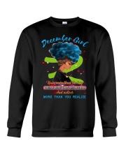 December Girls Crewneck Sweatshirt front