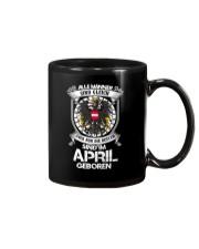 MAN APRIL Mug thumbnail