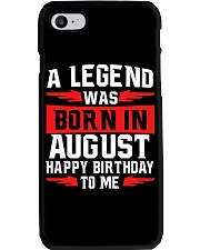 AUGUST LEGEND Phone Case thumbnail