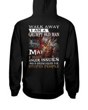 H- GRUMPY OLD MAN M5 Hooded Sweatshirt thumbnail