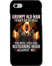 H-Grumpy old man Graphic tee Cool T shirts for Men Phone Case thumbnail