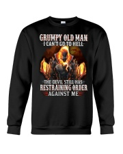 H-Grumpy old man Graphic tee Cool T shirts for Men Crewneck Sweatshirt thumbnail
