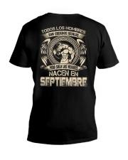 H- HOMBRE DE SEPTIEMBRE V-Neck T-Shirt thumbnail