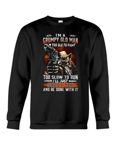 Grumpy old man printing graphic tees shirt design