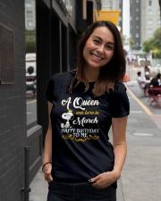 MARCH QUEEN Ladies T-Shirt lifestyle-women-crewneck-front-5