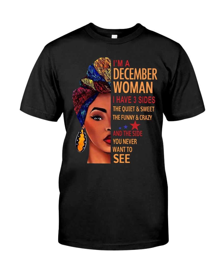 H- DECEMBER WOMAN Classic T-Shirt