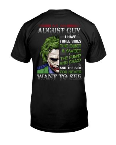 H- August T shirt Printing Birthday shirts for Men
