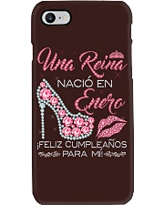 UNA REINA ENERO Phone Case tile