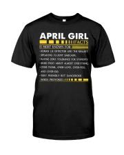 H- APRIL GIRL Classic T-Shirt front